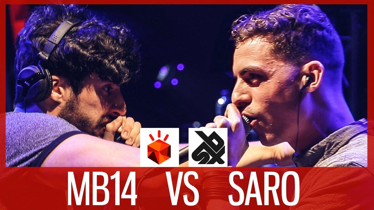 SARO vs MB14  Grand Beatbox LOOPSTATION SEMI FINAL Battle 2017